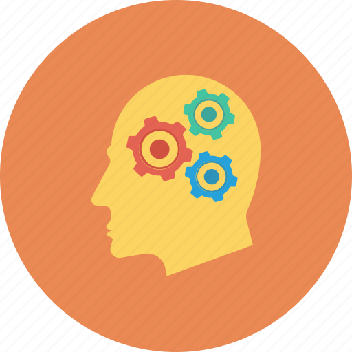 brain, configuration, design, plan, planning, setting icon icon