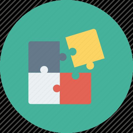 business, idea, marketing, pertinent, puzzel, seo, solution icon icon