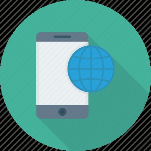 celestial, globes, international, internet, mobile icon