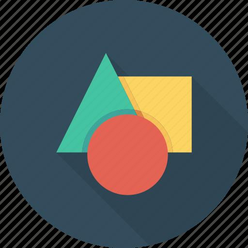 circle, creative, design, editor, graphic, shape, tool icon