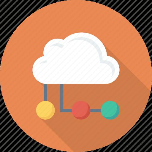 computing, hosting, network icon