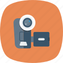 camera, device, film, movie, multimedia, recorder, video icon
