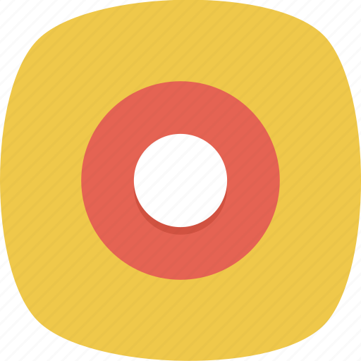 Circle, dot, rec, record icon - Download on Iconfinder