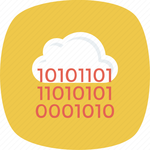 cloud, computing, programming icon