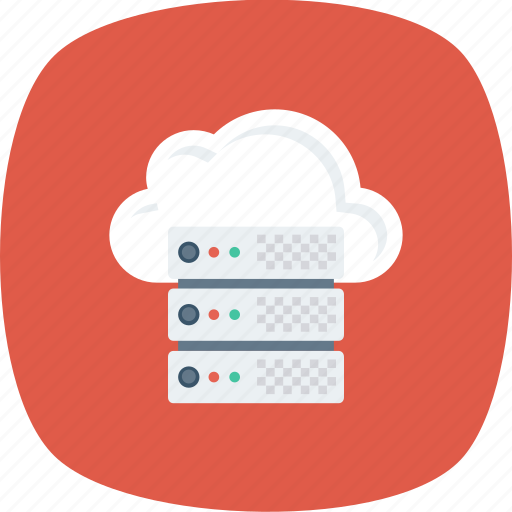 Cloud, database, host, hosting, server, settings, share icon - Download on Iconfinder