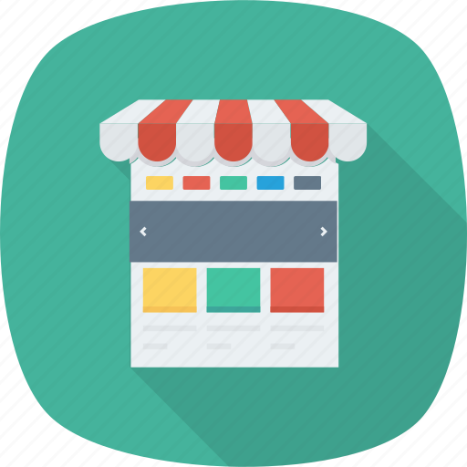 Web, shopping, internet, sale, online, click icon