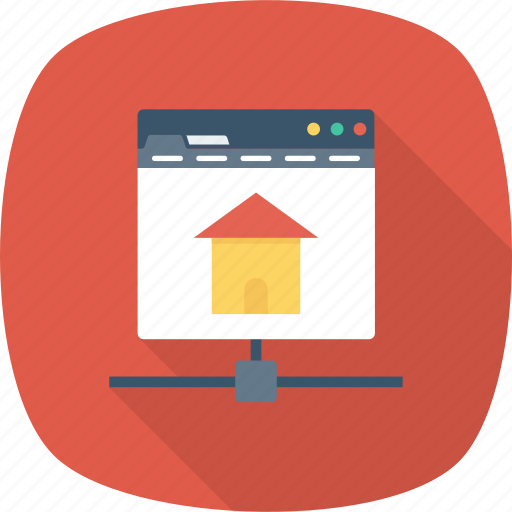 communicate, home, internet, network icon