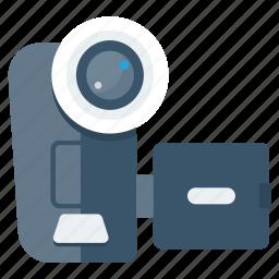 camera, device, film, movie, multimedia, recorder, video icon