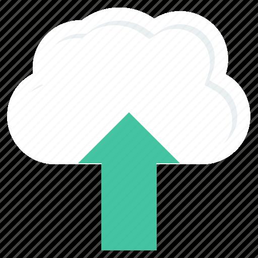 cloud, data, database, download, guardar, save, storage, upload icon