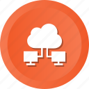 cloud, computing, connection, network icon