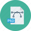 file, file psd, photoshop, photoshop file, psd, psd file icon icon