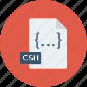 code, coding, csh, html, programming, web icon icon