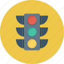 electric, lamp, light, sign, trafic icon icon