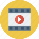 media, media player, multimedia, player, video player icon icon
