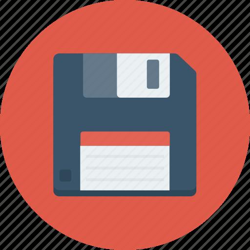 diskette, floppy, floppy disk, floppy drive, storage device icon icon