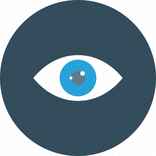 eye, find, look, see, unhide, view, visible icon icon