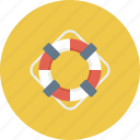 boat, help, lifebuoy, ocean, safe, sea, water icon icon