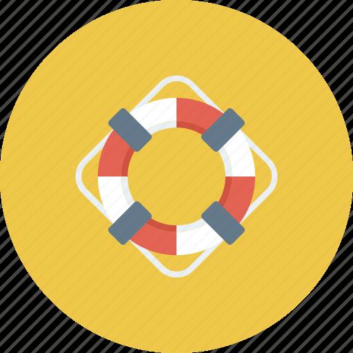 boat, help, lifebuoy, ocean, safe, sea, water icon icon