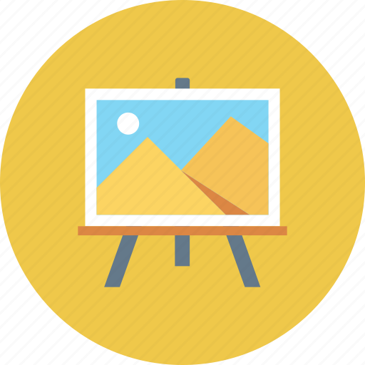 board, display, optimization, picture, seo, training icon icon