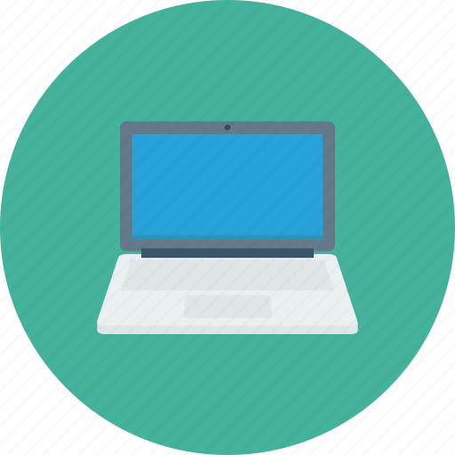 computer, laptop, notebook, screen, technology icon icon