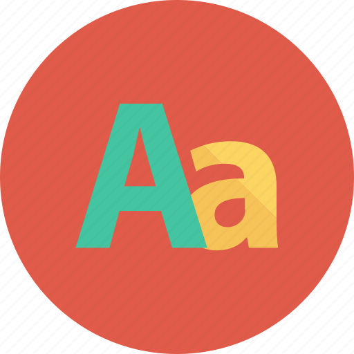 aa, alphabet, creative, design, font, grid, image icon
