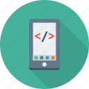 coding, html, mobile, online, smartphone, website