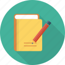 compose, edit, paper, pencil, write icon