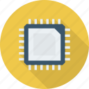 cpu, hardware, microprocessor, processor icon