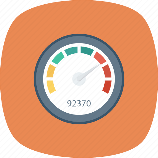 Dashboard, gauge, measure, meter, performance, speed, speedometer icon - Download on Iconfinder
