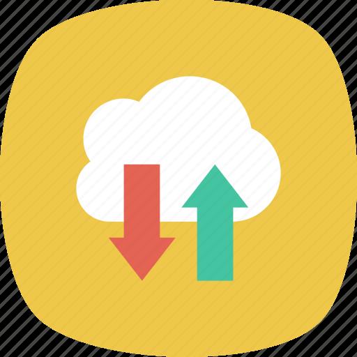 data, document, download, file, folder, storage, upload icon