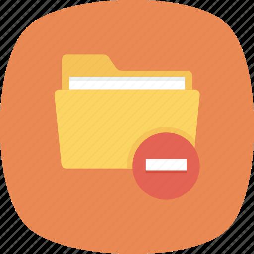 Delete, files, folder, remove icon - Download on Iconfinder