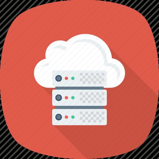 Database, settings, share, hosting, server, host, cloud icon