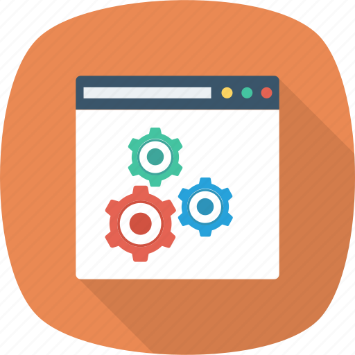 Website, web, management, settings, content, setting, page icon