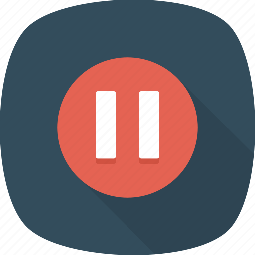 Control, line, pause, play, stop icon - Download on Iconfinder
