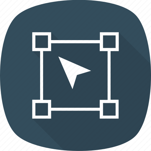 design, direct, graphic, selection, tool icon