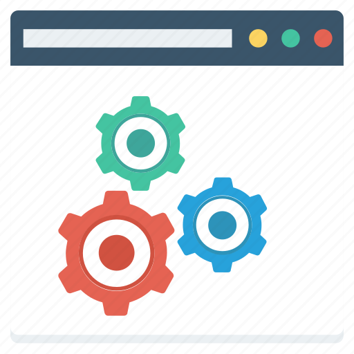 content, management, page, setting, settings, web, website icon