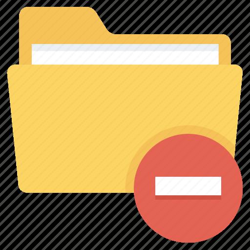 delete, files, folder, remove icon