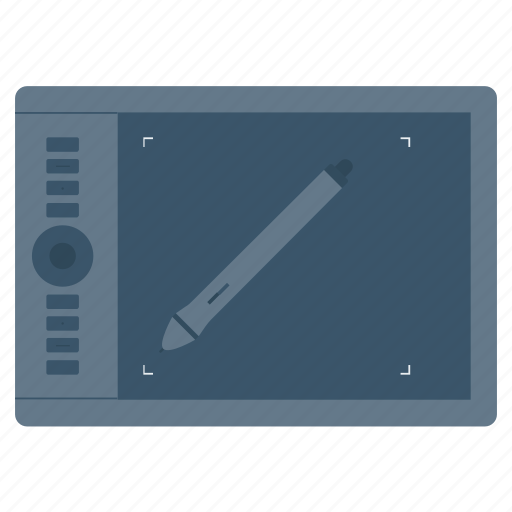 Design, draw, pen, tablet, wacom icon - Download on Iconfinder