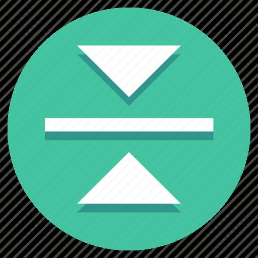 design, flip, mirror, reflect, vertical icon