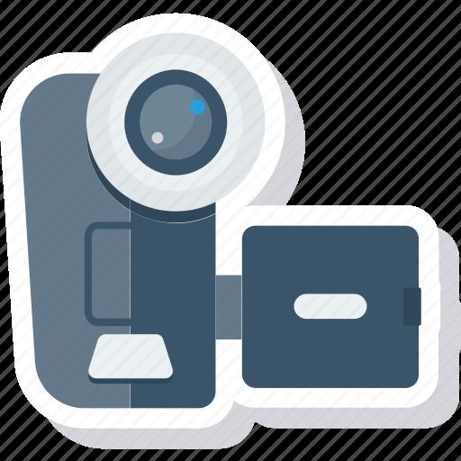 Movie, multimedia, camera, video, device, recorder, film icon