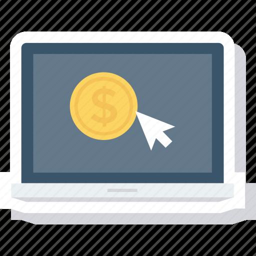 click, pay, per, ppc icon