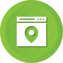 design, location, navigate, page, seo, web, wordpress icon