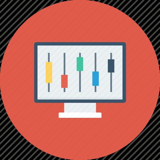 computer, connection, control, gear, monitor, repair, service icon icon