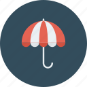 protection, rain, rainy, umbrella, weather icon icon