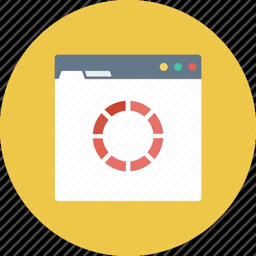 loading, monitor, processing, waiting, web refresh icon icon
