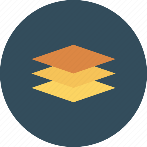 layer, layers, server, software icon icon