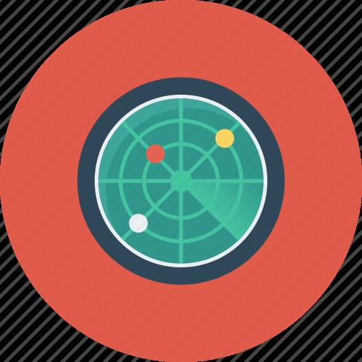 locator, radar, satellite, scan, scanner, search, signal icon icon