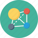 line-icon, networking, service, share, social, tripit icon icon