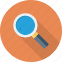 details, explore, find, magnifire, search, spy icon
