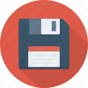 disk, diskette, drive, floppy, storage icon